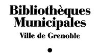 Logo Bibliothèques de Grenoble